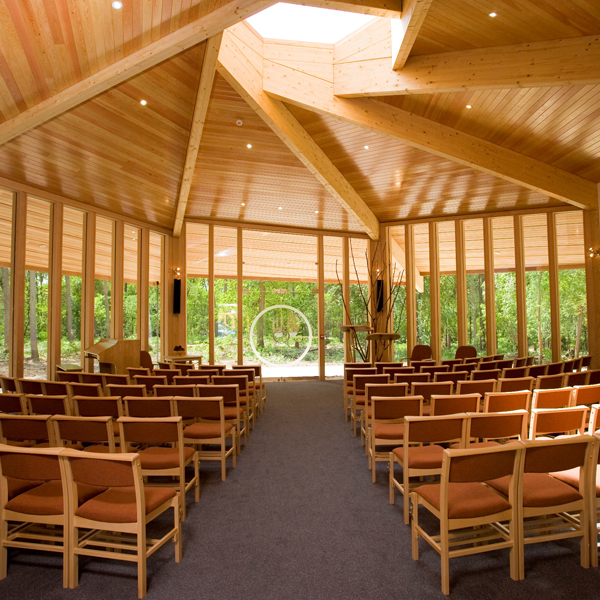Woodland retreat venue